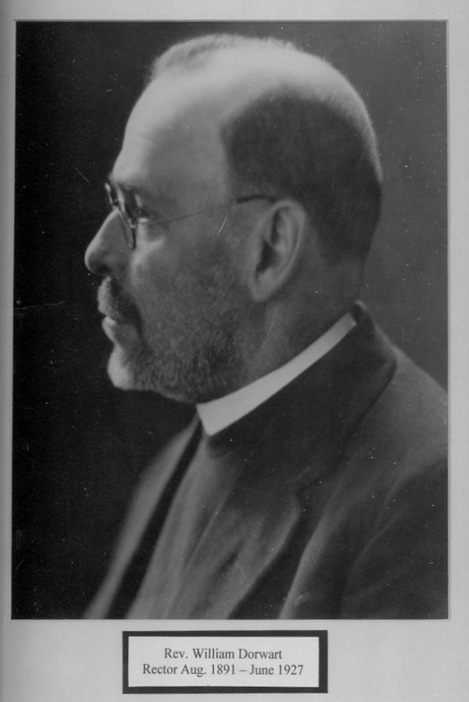 Dowart, The Rev. William 1891-1927